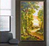 Pintura al óleo al por mayor de la decoración de la alta calidad, pintura clásica del arte del paisaje de la calidad excelente