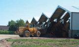가벼운 Prefabricated 강철 구조물 금속 창고