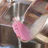 Прочные фасоли риса формы листьев очищая кухню Colanders оборудуют стрейнер