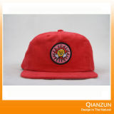 Nuovo re su ordinazione Red Embroidery Snapback Caps