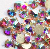 비 Ss20 복장 (FB-SS20 결정 ab)를 위한 수정같은 Ab 유리제 모조 다이아몬드 Flatback Hotfix 모조 다이아몬드 결정