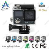 De dubbele Camera Sunplus 6350 van de Sport van de Sport DV van het Scherm 4k 25fps Spaander