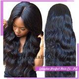 Парик волос девственницы Remy сразу цены фабрики верхнего качества бразильский
