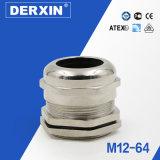Glándula de cable del metal de la fuente de la fábrica de los accesorios del cableado de M12 China