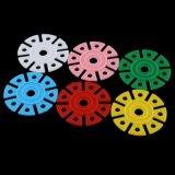 De puzzle en plastique de 100 jouet éducatif synthons de flocon de neige de PCS