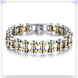 魅力の宝石類の方法宝石類のステンレス鋼のブレスレット(HR227)