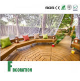 Sistema ao ar livre do Decking do revestimento de Eco WPC do protetor