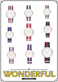 2015 costume Fashion Wristwatch com Nylon Band (DC-836)
