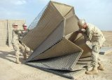 Militärgrad-sprengsicheres Fechten