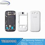 Le plein tableau de contrôle de boîtier, bâti moyen, couverture de batterie arrière réglée pour la galaxie S3 I9300 I9305 9300I de Samsung