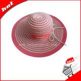 Sombrero de papel flojo de las mujeres de la cinta