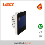 Thermostat de bobine de ventilateur d'écran tactile LCD pour le système central à C.A. (TX-928)