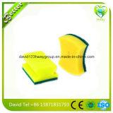 Almofada de limpeza para a esponja de celulose resistente de lavagem do purificador dos pratos com almofadas de limpeza