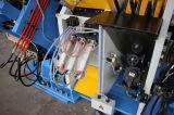 Ângulo do CNC que perfura, linha da marcação e de estaca