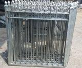 Загородка шикарной стальной безопасности стальная с копьем