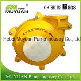 Pompe centrifuge de boue de moulin de débit d'alimentation lourde de cyclone