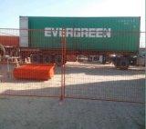 cerca provisória da construção ao ar livre de 6footx9.5foot Canadá/cerca ereta livre