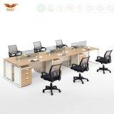 2인용 시트 L 모양 사무실 워크 스테이션 사무실 분할 (HY-256)를 위한 오피스 전화 센터