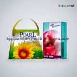 공장 직매 PVC 무료 샘플을%s 가진 명확한 플레스틱 포장 Foldable 상자