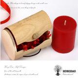 Hongdao 도매가 고품질 판매 _E를 위한 둥근 나무로 되는 Macaron 포장 선물 상자