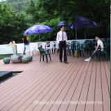 Decking artificial da madeira WPC para a decoração ao ar livre