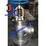 ANSI/API Actuator Klep van de Bol van de Flens van het Roestvrij staal de Pneumatische
