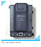 8ai/2ao/12di/8do中国PLC T-910はRS485/232およびイーサネットコミュニケーションと統合した