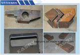 Aço da câmara de ar do CNC, plasma de aço do perfil que corta o Kr-Xq completo da máquina