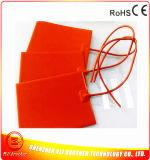 calefator da borracha de silicone de 245*185*1.5mm para o espelho de carro