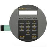 Interruptor de membrana electrónico de los telclados numéricos de goma flexibles del circuito del panel de control