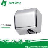 Dessiccateur automatique de main de détecteur du marché de salle de bains puissante à grande vitesse BRITANNIQUE du gicleur 1800W