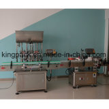 De Machine van de Etikettering van het roestvrij staal de volledig Automatische Machine van de Etikettering van de Fles van het Glas