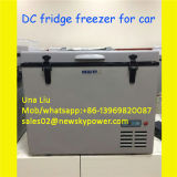 Портативный холодильник замораживателя DC 12V замораживателя автомобиля солнечный
