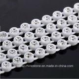 3mm Plastic Rhinestones Banding Rhinestone Trim Knell Bead Strass Hook Banding Plastic Chains (Tc-ss12/3mm clear)