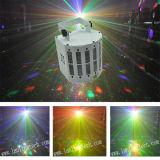 Luz do laser Derby do diodo emissor de luz da borboleta