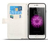 iPhoneのための優れた贅沢な革札入れの携帯電話の移動式箱