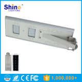 luz del panel solar de 20W LED con el sensor de PIR