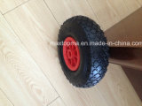300-4 Wheel de borracha Barrow Wheel para Europa Market