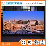 Yestech P1.6 작은 화소 텔레비젼 방송국 발광 다이오드 표시 (중국 공급자)