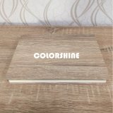 En bois blanc classique comme le carnet éducatif
