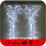 고무 철사 연결할 수 있는 LED 크리스마스 커튼 빛, Wedding 훈장 빛