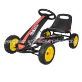La pédale d'enfants vont Kart avec les roues pleines de mousse d'unité centrale (le certificat de la CE)