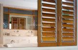 Окно жалюзиего селитебного зерна рамки деревянного алюминиевое