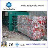 Prensa de empacotamento hidráulica semiautomática do papel Waste