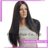 Glueless Natural Hairline Brazilian Hair Lace Front Wigs