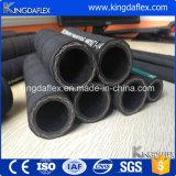 Boyau hydraulique tressé hautement abrasif de fil d'acier