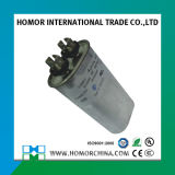 Capacitor metalizado 80UF Cbb65 do motor da película do Polypropylene do condicionador de ar 450VAC
