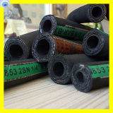 Tubo flessibile della gomma sintetica del tubo flessibile del collegare dell'acciaio ad alta resistenza 1/4 di pollice