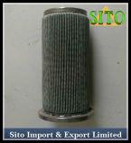 Filtro do cilindro do engranzamento de fio do aço inoxidável/filtro do cartucho