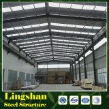 Magazzino della struttura d'acciaio dell'ampia luce in Cina
